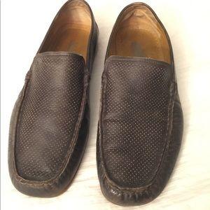 Bruno Magli Kolver Leather Loafers